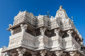 foto of hindu temple  - Jagdish Temple is a large Hindu temple in Udaipur India - JPG