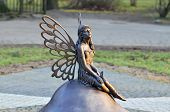 pic of fairy  - Sculpture Forest fairy - JPG