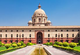 image of rashtrapati  - Rashtrapati Bhavan is the official home of the President of India - JPG
