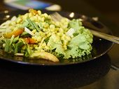 image of sweet-corn  - Thai style sweet corn spicy salad  - JPG