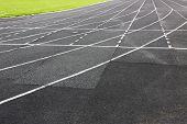 picture of treadmill  - Treadmill at stadium - JPG