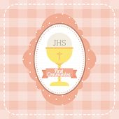 image of communion-cup  - first communion design - JPG