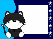 picture of baby cat  - cute baby cat background in vector format very easy to edit - JPG