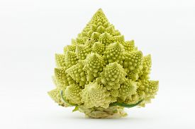 stock photo of romanesco  - Romanesco broccoli  - JPG