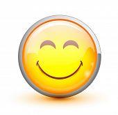 stock photo of smiley face  - Smiley - JPG