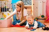 foto of babysitting  - Children  - JPG