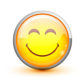 stock photo of smiley face  - Smiley - JPG