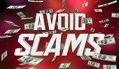 Avoid Scams Dont Be Fraud Warning Lose Money 3d Illustration poster