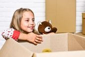 Insurance Post Package. Relocating Delivery Services. Delivering Happiness. Little Child Open Post P poster