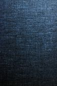 Decorative Linen Blue Jeans Fabric Textured Background For Interior, Furniture Design And Fashion La poster