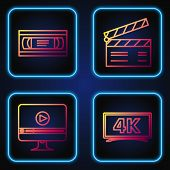Set Line Screen Tv With 4k Ultra Hd Video Technology , Online Play Video , Vhs Video Cassette Tape A poster