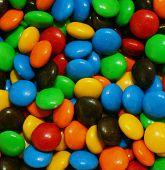 Постер, плакат: Чаша красочной конфеты