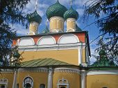 image of uglich  - Cathedral of the Transfiguration in  Uglich - JPG