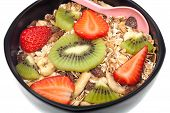 Muesli With Fruits Wholegrain Breakfast