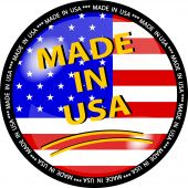Made In Usa Button