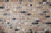 stock photo of stonewalled  - Old brick wall texture background - JPG