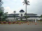 foto of sate  - gedung sate is the icon landmark buildings in bandung west java - JPG