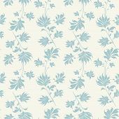 foto of decoupage  - Seamless vintage wallpaper pattern - JPG
