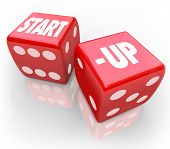 foto of dice  - Start - JPG