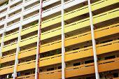 stock photo of public housing  - Singapore public house  - JPG