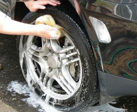 stock photo of car wash  - car wash - JPG