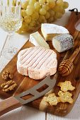 stock photo of collate  - Cheese plate - JPG
