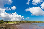 stock photo of galway  - View of and Rosleague in County Galway in Connacht - JPG