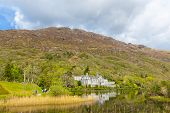 picture of galway  - Kylemore Abbey in County Galway in Connacht in Ireland - JPG
