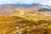 picture of galway  - View of Connemara National Park Mountains in Galway - JPG