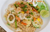 picture of thai food  - Fried Thai Mama Instant Noodles - JPG