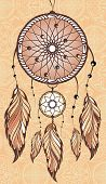 pic of dream-catcher  - Decorative illustration - JPG