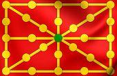image of reino  - Kingdom of Navarre 3D Flag - JPG