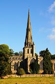 foto of church-of-england  - Parish Church of Saint Oswald Ashbourne Derbyshire England UK Western Europe - JPG