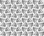 stock photo of interlocking  - Abstract geometrical pattern - JPG
