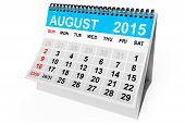 pic of august calendar  - 2015 year calendar - JPG