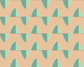 picture of oval  - Vintage colored simple seamless pattern - JPG