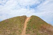 image of burial  - Burial mound - JPG