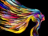 picture of expressionism  - Colors of Imagination series - JPG