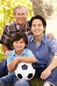 stock photo of grandfather  - Father - JPG