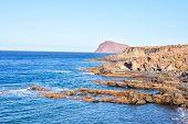 pic of atlantic ocean  - Dry Lava Coast Beach in the Atlantic Ocean - JPG