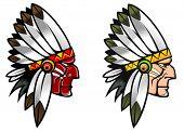 stock photo of valiant  - Indigenous people - JPG