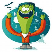 stock photo of frankenstein  - Halloween  - JPG