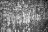 Dark grey grunge texture background. Grey colored concrete wall. Abstract grunge texture on grey wal poster
