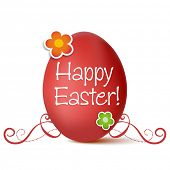 foto of happy easter  - Easter greeting card - JPG
