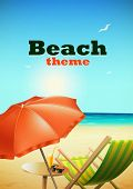 stock photo of bum  - Beach theme - JPG