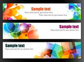 Elegant Colorful Web Banners