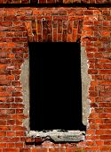 A Window On A Brick Wall