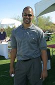 PALM SPRINGS - FEB 7: Dondre Whitfield at the 15th Frank Sinatra Celebrity Invitational Golf Tournam