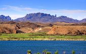 Beautiful landscape of Lake Havasu in Arizona
