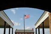 American Flag at Fort Clinch